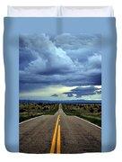 Long Highway Duvet Cover