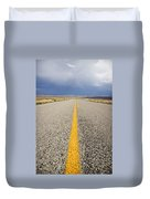 Long Lonely Road Duvet Cover
