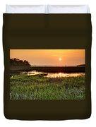 Long Marsh View Duvet Cover