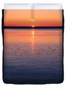 Long Sunset Duvet Cover