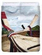 Long Tail Boats Of Krabi Duvet Cover