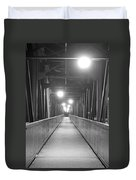 Long Walking Bridge Duvet Cover