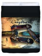 Longboards Duvet Cover