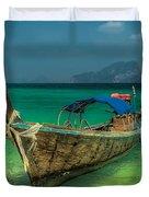 Longboat Duvet Cover