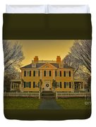 Longfellow House-cambridge Boston Duvet Cover