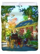 Longfellows Wayside Inn Duvet Cover
