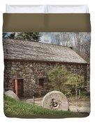 Longfellow's Wayside Inn Grist Mill Duvet Cover