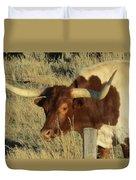 Longhorn # 2 Duvet Cover