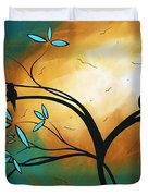 Longing By Madart Duvet Cover