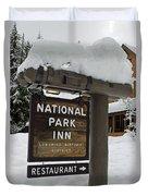 Longmire National Park Inn Duvet Cover
