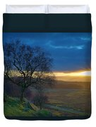 Longshaw Sunset Duvet Cover