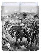 Longstreet At Gettysburg Duvet Cover