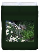 Look After The Daisies Duvet Cover