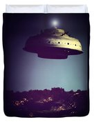 Look... It's A Flying Saucer Duvet Cover