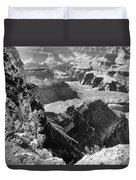 Looking Down On Grand Canyon Duvet Cover
