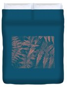 Looking At Ferns Another Way Duvet Cover
