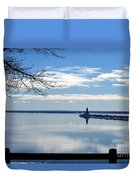 Looking Glass Duvet Cover