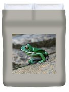 Looking Green Duvet Cover