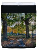 Looking Over The Hill Duvet Cover