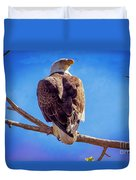 Looking Right Duvet Cover by Bob Hislop