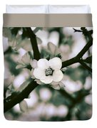 Looking Through The Blossoms 2 By Kaye Menner Duvet Cover