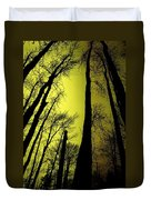 Looking Through The Naked Trees  Duvet Cover