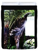 Looking Through The Window Of Extinction Duvet Cover