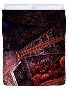 Looking Up Albi Cathedral Duvet Cover