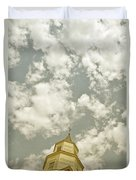 Looking Up At Heaven Duvet Cover