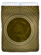 Looking Up Capitol Dome Duvet Cover