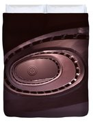 Looking Up Spiral Stair 2 Duvet Cover