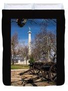 Lookout Mountain Peace Monument 2 Duvet Cover