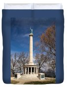 Lookout Mountain Peace Monument 4 Duvet Cover