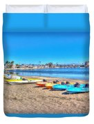 Looks And Feels Like Summer Duvet Cover by Heidi Smith
