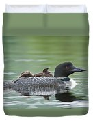 Loon Chick - Big Yawn Duvet Cover