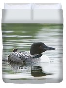 Loon Chick Rise And Shine Duvet Cover