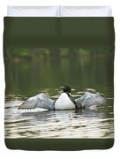 Loon Wing Spread - Drying Off Duvet Cover
