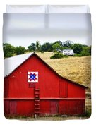 Loose Creek Quilt Barn Duvet Cover by Cricket Hackmann
