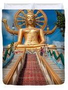 Lord Buddha Duvet Cover