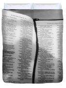 Lord Is My Shepherd Duvet Cover
