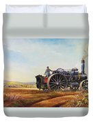 Lord Kitchener And General French Duvet Cover by Dudley Pout