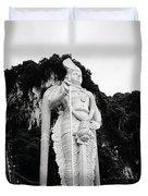 Lord Muruga Duvet Cover