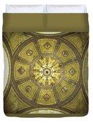 Los Angeles City Hall Rotunda Ceiling Duvet Cover
