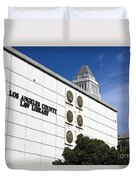 Los Angeles County Law Library Duvet Cover