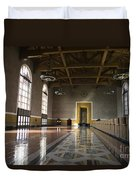 Los Angeles Union Station Interior Duvet Cover