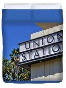 Los Angeles Union Station Duvet Cover