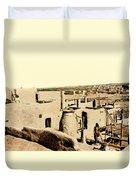 Los Pueblos De Taos Duvet Cover