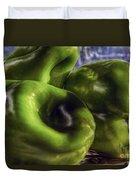 Los Tres Amigos Verdes Duvet Cover