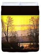 Lost Along The River Duvet Cover