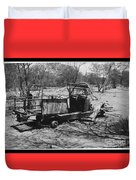 Lost Also Duvet Cover